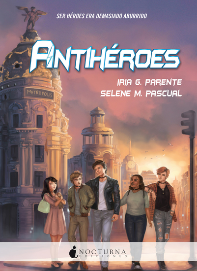 Antihéroes - cover