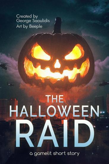 The Halloween Raid: A GameLit Short Story - The Halloween Raid #1 - cover