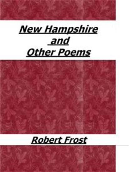 New Hampshire and Other Poems - cover