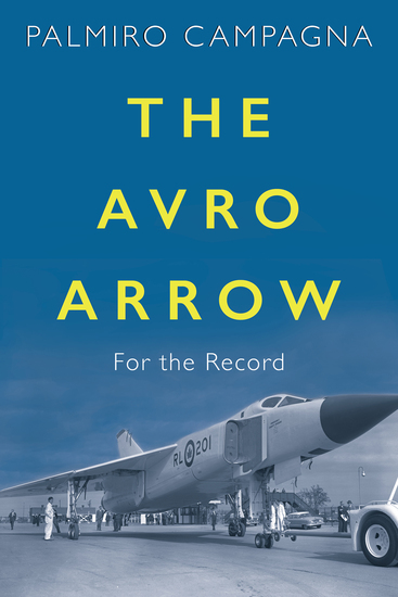 The Avro Arrow - For the Record - cover