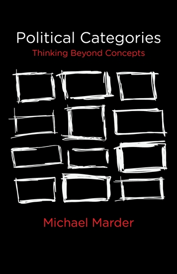 Political Categories - Thinking Beyond Concepts - cover