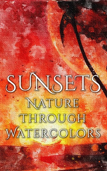 Sunsets - Nature through Watercolors - cover