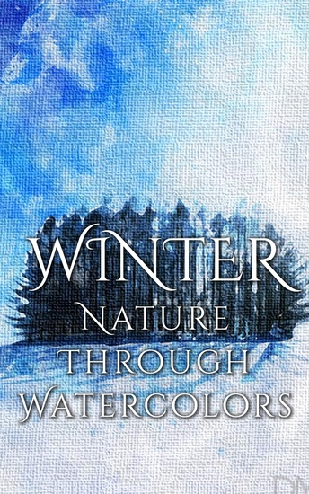 Winter - Nature through Watercolors - cover