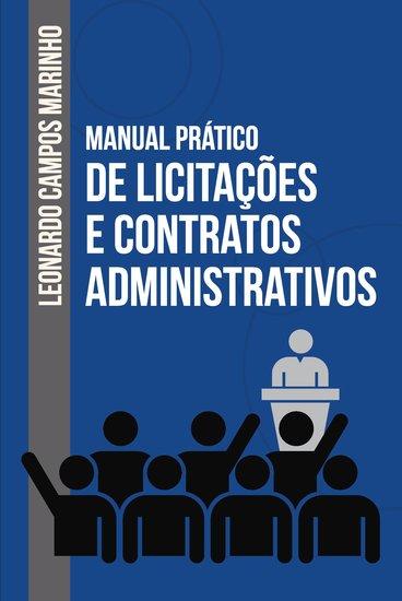 Manual prático de licitações e contratos administrativos - cover