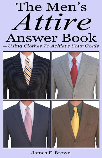The Men's Attire Answer Book - cover