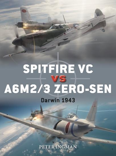 Spitfire VC vs A6M2 3 Zero-sen - Darwin 1943 - cover