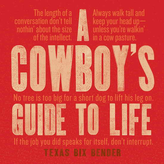 A Cowboy's Guide to Life - cover