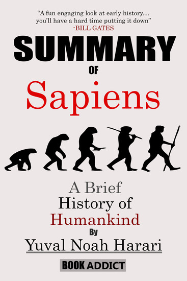Summary of Sapiens - A Brief History of Humankind By Yuval Noah Harari - cover