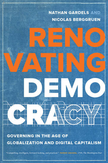 Renovating Democracy - Governing in the Age of Globalization and Digital Capitalism - cover