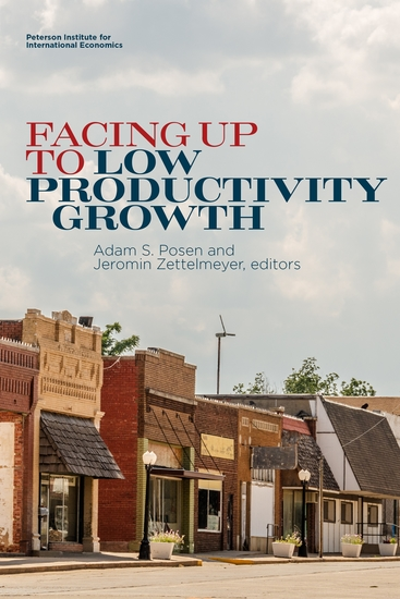 Facing Up to Low Productivity Growth - cover