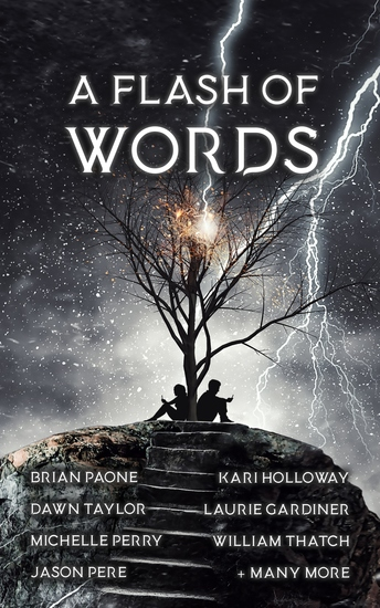 A Flash of Words - 49 Flash Fiction Stories - cover