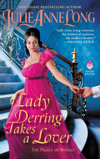 Lady Derring Takes a Lover - The Palace of Rogues - cover