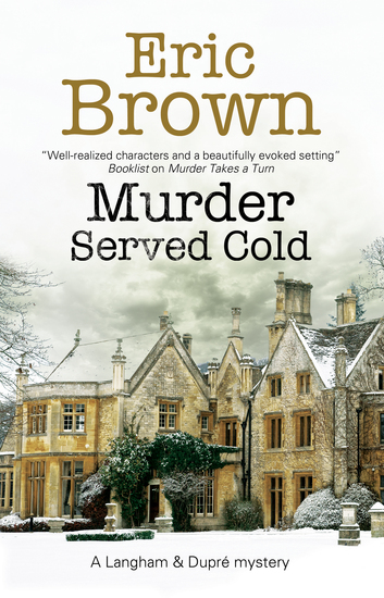 Murder Served Cold - cover