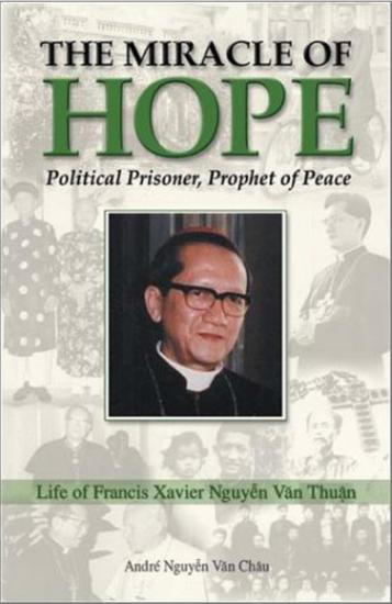 The Miracle of Hope - Political Prisoner Prophet of Peace - cover