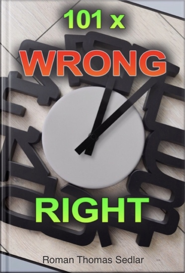 101x Wrong Right - - for Learners of English - cover