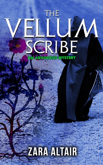 The Vellum Scribe - An Argolicus Mystery - cover
