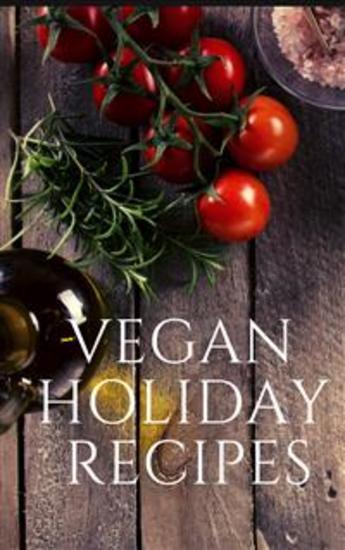 Vegan Holiday Recipes - cover