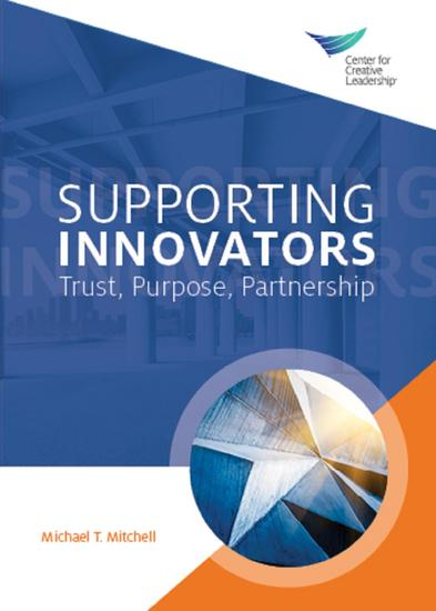 Supporting Innovators: Trust Purpose Partnership - cover