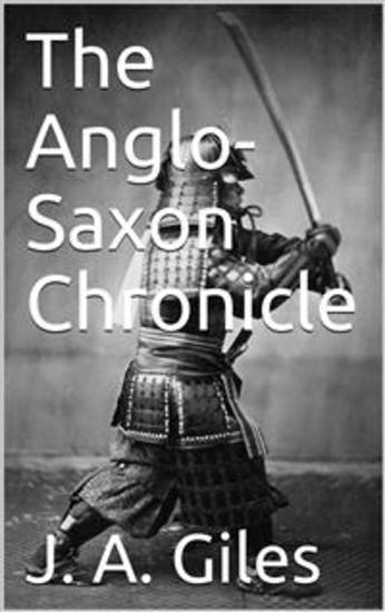 The Anglo-Saxon Chronicle - cover