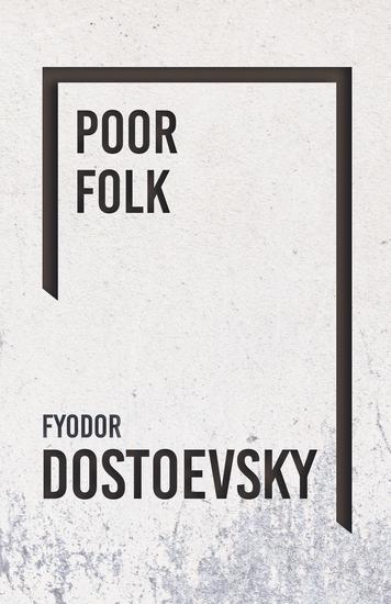 Poor Folk - cover
