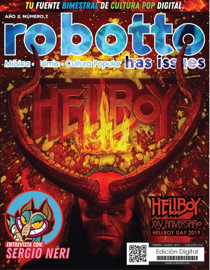 Robotto Has Issues 07 - Febrero Marzo 2017 - cover