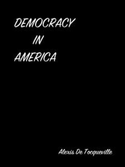Democracy In America - cover