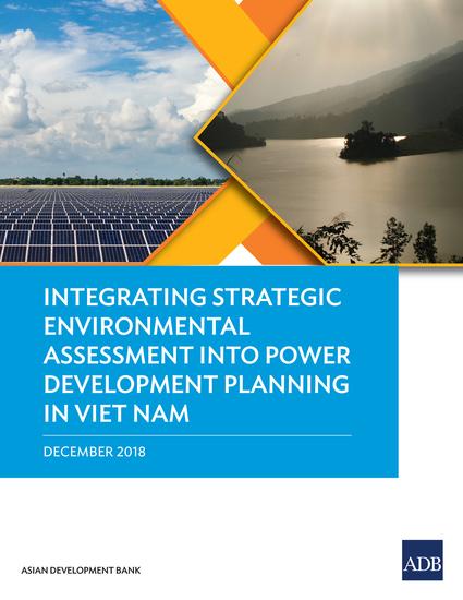 Integrating Strategic Environmental Assessment into Power Development Planning in Viet Nam - cover