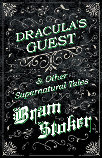 Dracula's Guest & Other Supernatural Tales - cover