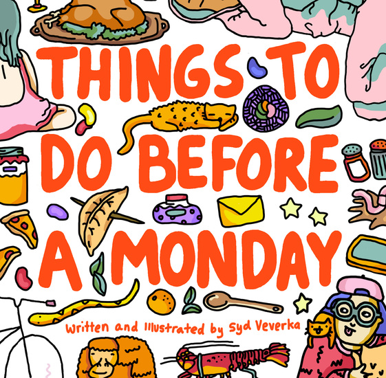 Things to Do Before a Monday - cover