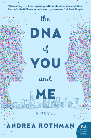 The DNA of You and Me - A Novel - cover