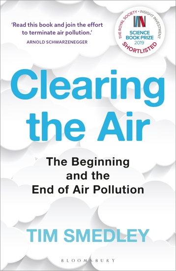 Clearing the Air - SHORTLISTED FOR THE ROYAL SOCIETY SCIENCE BOOK PRIZE 2019 - cover