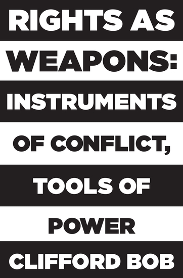 Rights as Weapons - Instruments of Conflict Tools of Power - cover