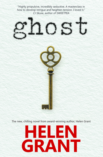 Ghost - The new chilling novel from award-winning author Helen Grant - cover