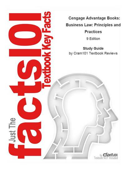Cengage Advantage Books Business Law Principles and Practices - cover