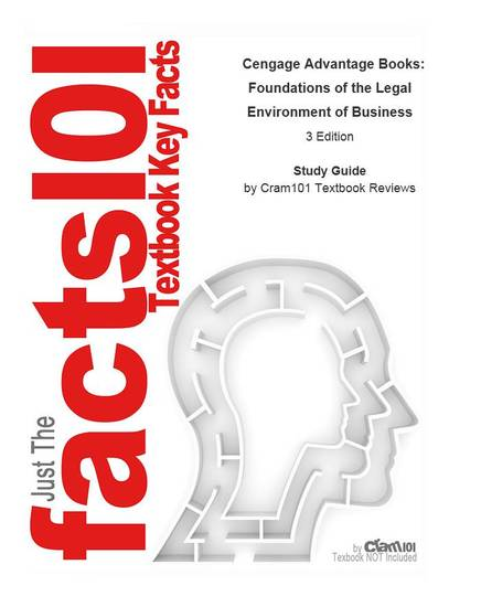 Cengage Advantage Books Foundations of the Legal Environment of Business - cover