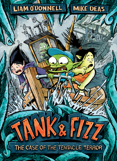 Tank & Fizz: The Case of the Tentacle Terror - cover