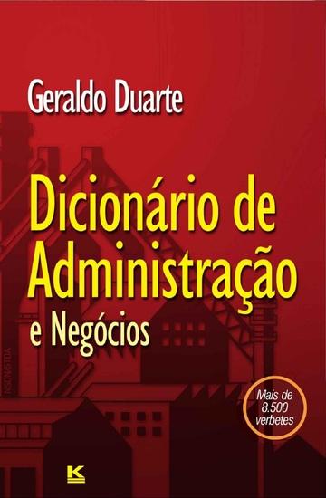 Dicionário de Administração - cover