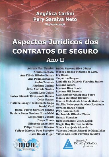 Aspectos Jurídicos dos Contratos de Seguro Ano II - cover