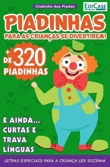 Clubinho das Piadas Ed 3 - Piadinhas - cover