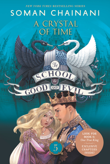 The School for Good and Evil #5: A Crystal of Time - cover