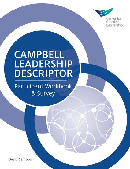 Campbell Leadership Descriptor Participant Workbook & Survey - cover