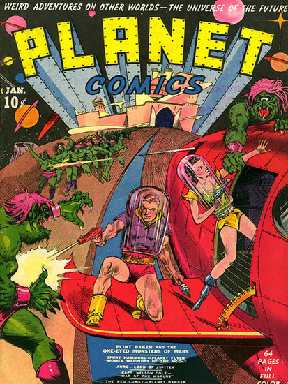 Planet Comics #1 - cover