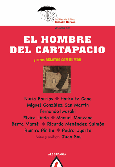 El hombre del cartapacio - Y otros relatos con humor - cover