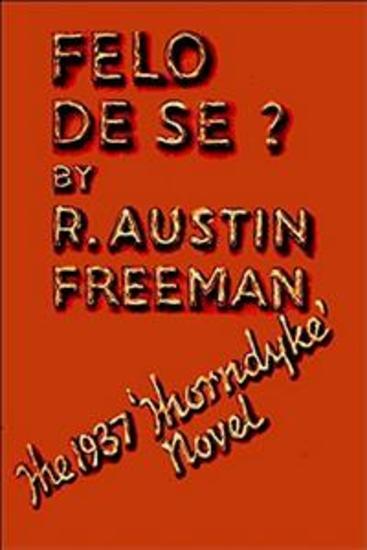 Felo de Se? - cover