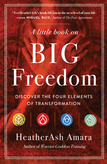 A Little Book on Big Freedom - Discover the Four Elements of Transformation - cover