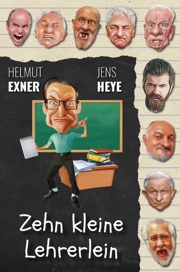 Zehn kleine Lehrerlein - cover