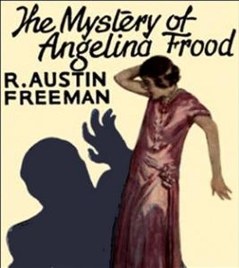 The Mystery of Angelina Frood - cover