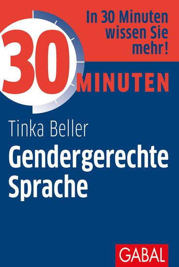 30 Minuten Gendergerechte Sprache - cover