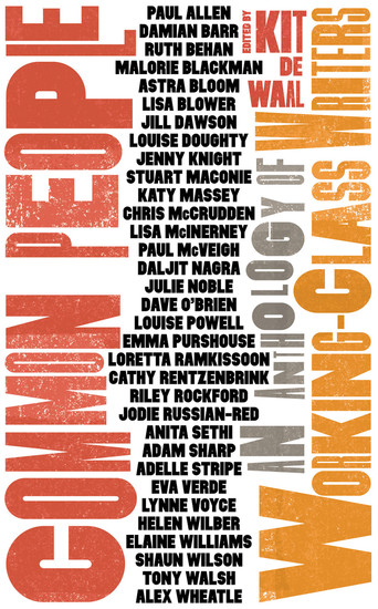 Common People - An Anthology of Working-Class Writers - cover