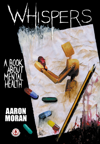 Whispers: A book about mental health - cover